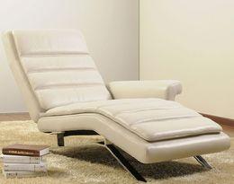 680 moderní designové kožené polohovací relaxační křeslo
