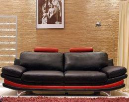 5048 designová moderní kožená sedací souprava