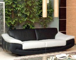 5370 moderní kožená sedací souprava