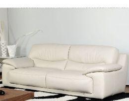 5602 klasická kožená sedací souprava