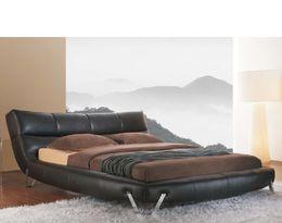 1362 moderní kožené postel