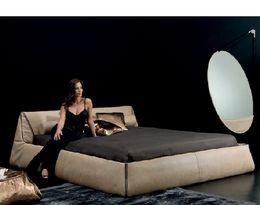 Moderní kožená postel SUITE.
