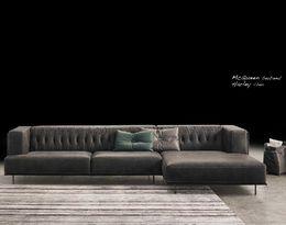 Luxusní kožené sedací souprava Mc Qeen